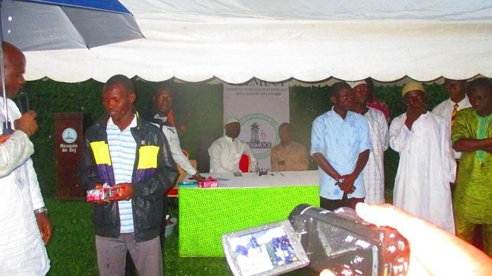 14e Édition de la Journée de Solidarité Ramadan organisée par la Communauté des Élevés et Étudiants Musulmans de Côte d'Ivoire (CEEMUCI).