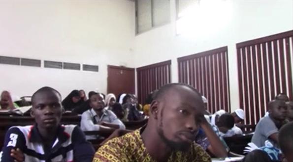 Journée de reception des bacheliers de la Coordination des Etudiants du Mouvement Al Mouwahhidoun de Cote d'Ivoire (CEMAMCI).